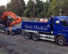 Maskin transport